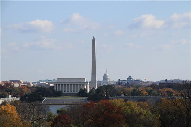 DC Skyline in Autumn