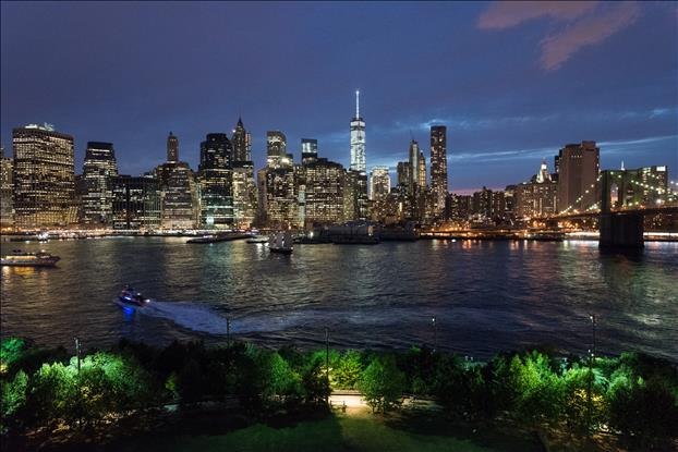 Lower Manhattan View, Brooklyn Bridge Park, Brooklyn