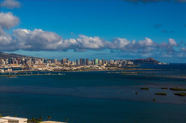Urban Honolulu and Leahi