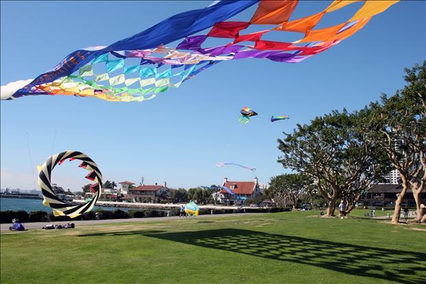Downtown Seaport Village Kites