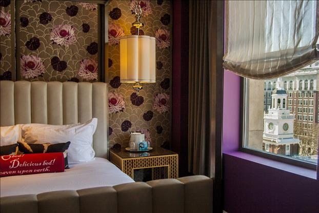 Just steps from Independence Hall and the Liberty Bell, Kimpton's Hotel Monaco Philadelphia combines luxurious design and amenities with an eco-conscious LEED gold rating